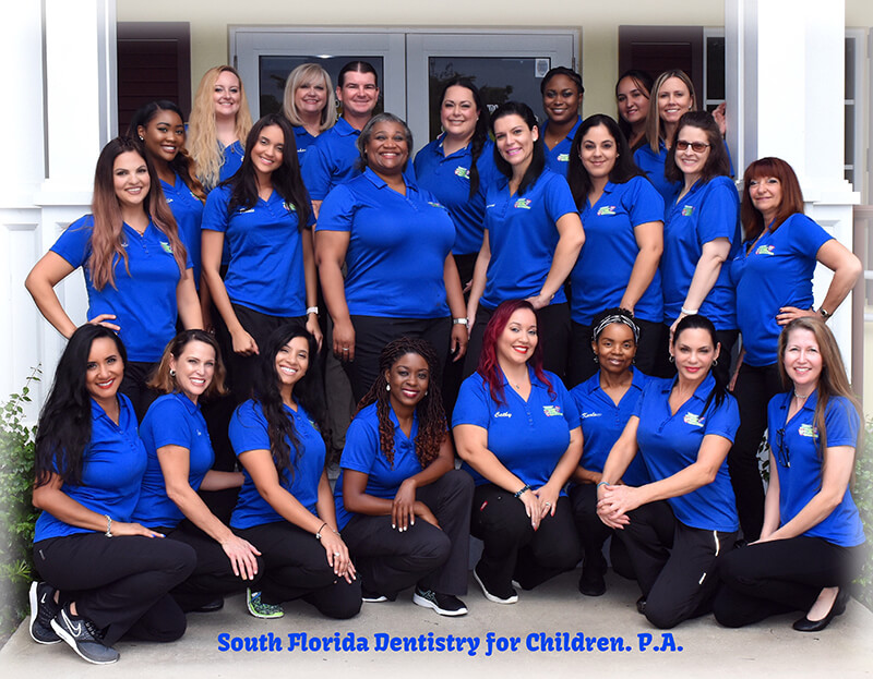The Team at South Florida Dentistry for Children in COral Springs and Boca Raton